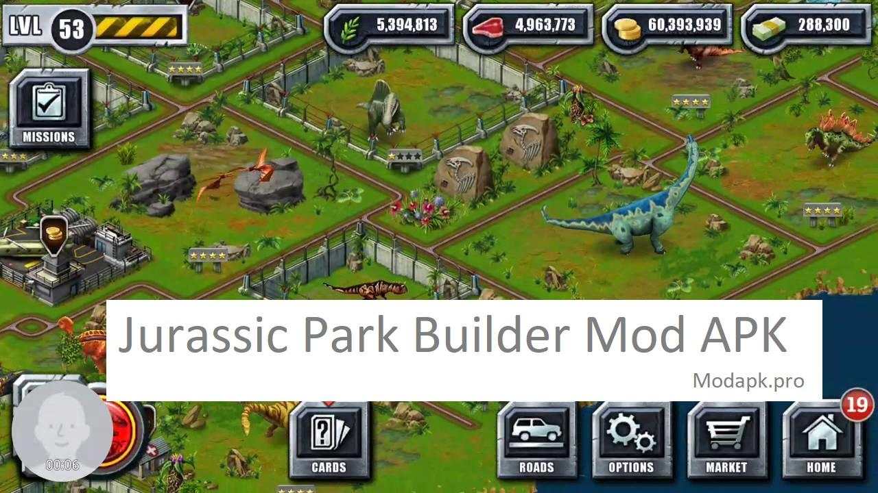Jurassic Park Builder Mod APK